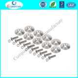 Rondelle en aluminium conique personnalisée de haute précision