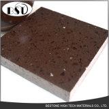Brown-Schein-künstlicher Quarz-Stein mit Sand-Glas