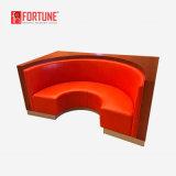 Sofá del hotel del restaurante del diseño/asiento modificados para requisitos particulares de la cabina