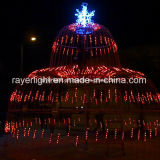 Dynamic LED das luzes de Natal Fonte Grande decoração exterior