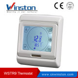 Período de la pantalla táctil de Winston Termostato Programación Wstr9