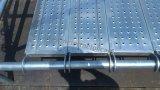 Planche en acier pour le système d'échafaudage de Ringlock