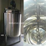 el tanque de almacenaje vertical del jugo del acero inoxidable 1000L con el mezclador