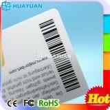 昇進のための高品質のプラスチックPVC QRバーコードの名刺