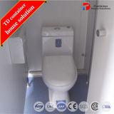 Het draagbare die Toilet van de Container voor Publiek in China wordt gemaakt