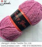 Chenille-Garn mit Lurex, das Garn Jd8002 mit der Hand strickt