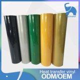 Qualité élastique imprimable de Coréen de vinyle de transfert thermique de PVC d'unité centrale