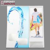 Comptoir Présentoir acrylique pour le shampooing