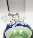 Het glanzen de Nieuwe het Roken van het Water van het Glas van Incycler van het Glas van de Kleur Reeks van de Pijp