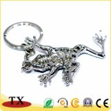 Fabbrica nella catena chiave di figura animale su ordinazione della rana della Cina