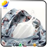 Coton d'impression de mode et robes Shaped de robe de chemise de taille