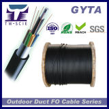 Gepantserde Optische Kabel 72 van de Vezel GYTA Kern voor het Systeem van het Voorzien van een netwerk