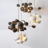 Iluminação moderna do pendente da decoração da iluminação do candelabro da esfera