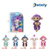대화식 핑거는 6마리의 다채로운 지능적인 작은 물고기 원숭이 장난감을
