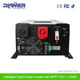 2018 Fabricación Precio favorable Panel Solar Híbrido Inversor de potencia 6000W 48V CC