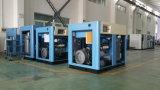 compresseur d'air rotatoire économiseur d'énergie servo de vis de 22kw P.M.