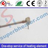 Alto elemento de calefacción industrial del calentador del cartucho del acero inoxidable de Desity