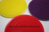 Het Vrije Kleurrijke Schoonmaken van de Borstel van het Silicone BPA schrobt voor de Was van de Schotel