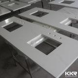 De aangepaste Countertop van de Hars van de Steen van het Project Kunstmatige/Bovenkant van de Ijdelheid