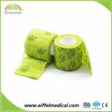 Marcação e FDA Impresso Personalizado Vet bandagem coesa Veterinários da cintagem por rede