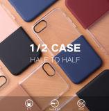 Originele Baseus 1/2 Reeks PC+TPU Half aan de Halve AchterDekking van het Geval Soft+Hard voor iPhone 8/8 plus