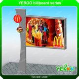 Tabellone per le affissioni esterno che fa pubblicità, contenitore chiaro di Scrolling di tabellone per le affissioni di Scrolling del LED Digital