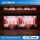 Schermo di visualizzazione esterno eccellente del LED di colore completo del Governo P10mm di sigillamento per affitto