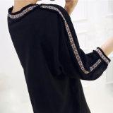 Custom дамы круглый воротник цвета кружева прямой юбки
