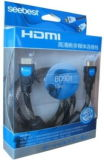 De Nylon Kabel van uitstekende kwaliteit van het Vlechten HDMI