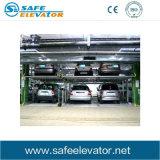 Elevatore automatico di parcheggio che fa scorrere il sistema di parcheggio