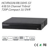 Dahua 4/8/16의 채널 Tribrid 720p 조밀한 1u DVR (HCVR4104/08/16HS-S3)