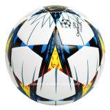 ODM parfait de bille de football de cuir de modèle de texture d'adhérence