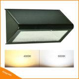 800lm 48LED 옥외 레이다 센서 램프 태양 정원 벽 빛