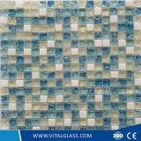 Het gekleurde Decoratieve Mozaïek van het Glas voor de Decoratie van de Vloer