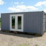 Australia Granny estándar de 20 pies planos, para oficina/Casas Móviles Mobile