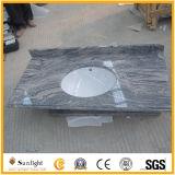 Personnaliser le dessus en pierre normal de vanité de marbre/granit/quartz pour la salle de bains