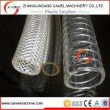 Linha reforçada da extrusão da tubulação de mangueira do fio de aço do PVC