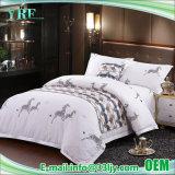 Apartamento de lujo de algodón del fabricante de ropa de cama impreso establecido