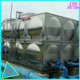 Tank van het Water van het Roestvrij staal van de Rang van het voedsel de Vierkante