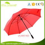Зонтик типа гольфа зеленого полиэфира Pongee более дешевый