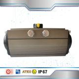 Válvula de mariposa de calidad superior del actuador neumático