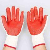 С износостойкими резиновые рабочие перчатки