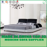Mobilia di cuoio moderna nordica della casa della base per la mobilia della camera da letto