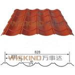 Strato rivestito del tetto di colore del piatto d'acciaio PE/PVDF