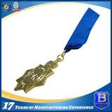 Конкурентоспособная цена Shinny бронзовое оптовое изготовленный на заказ медаль спортов создателя медалей фертига-аппарат