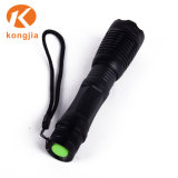 Профессиональный светодиодный светильник высокого качества военных T6 черного цвета освещения карманных фонариков