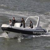 Liya 7.5m de Kleine Verkoop van de Boot van de Glasvezel van de Boot van de Rib van de Cabine Opblaasbare