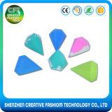 Слойка порошка состава сливк Bb формы диаманта свободно образца горячая продавая косметическая