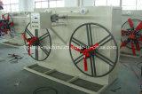 Bobina de estación única / máquina de bobinado para tubería de plástico