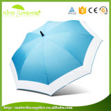Open Button on concerns White Aluminum Frame mini gulf Umbrella